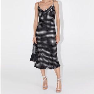 New Zara fashion Sevilla polka dot dress L